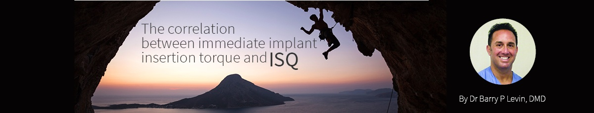 Blog - The Correlation Between Immediate Implant Insertion Torque and Implant Stability Quotient 2